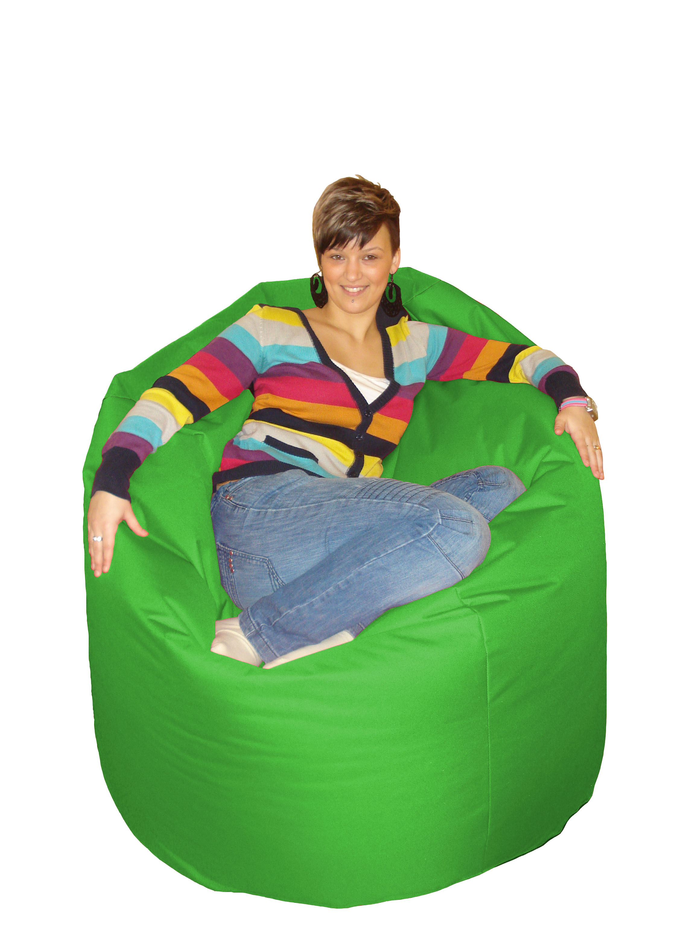 Sedací hruška Cool zelená (zelená 60166)