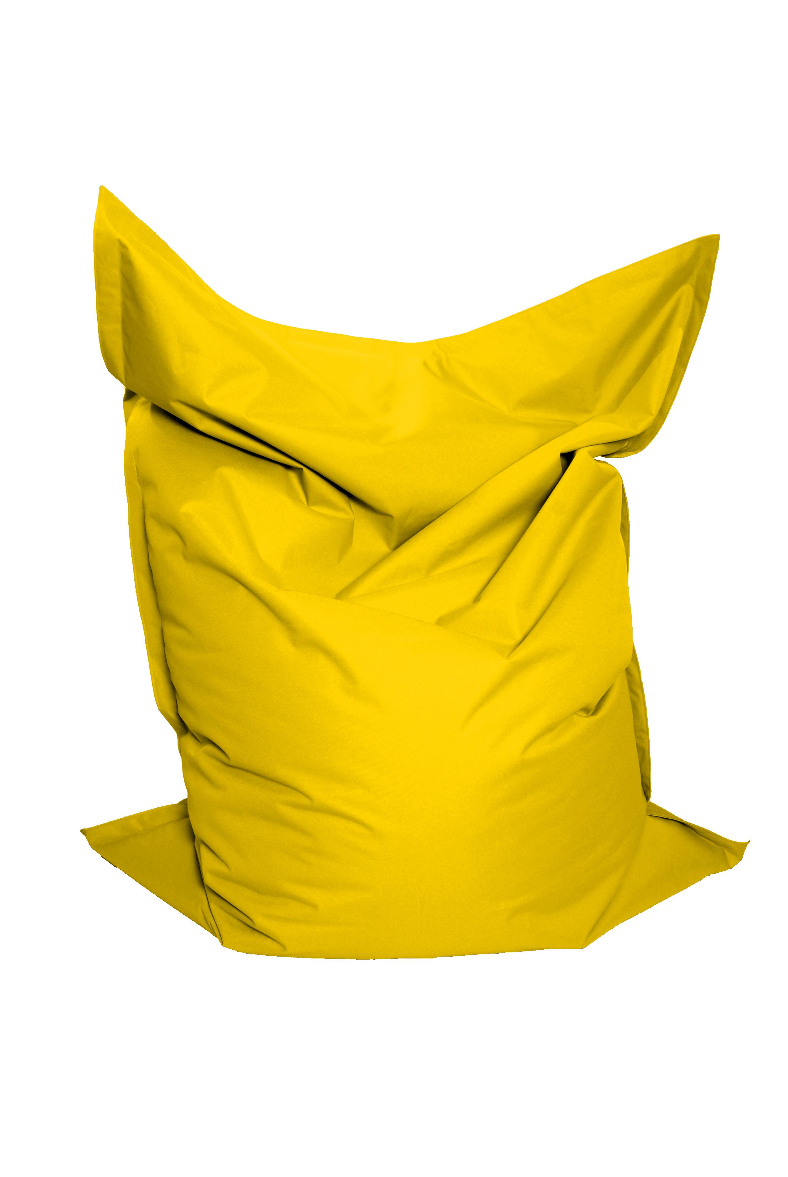 M&M sedací vak Standard 141X180cm žlutá (žlutá 60103)