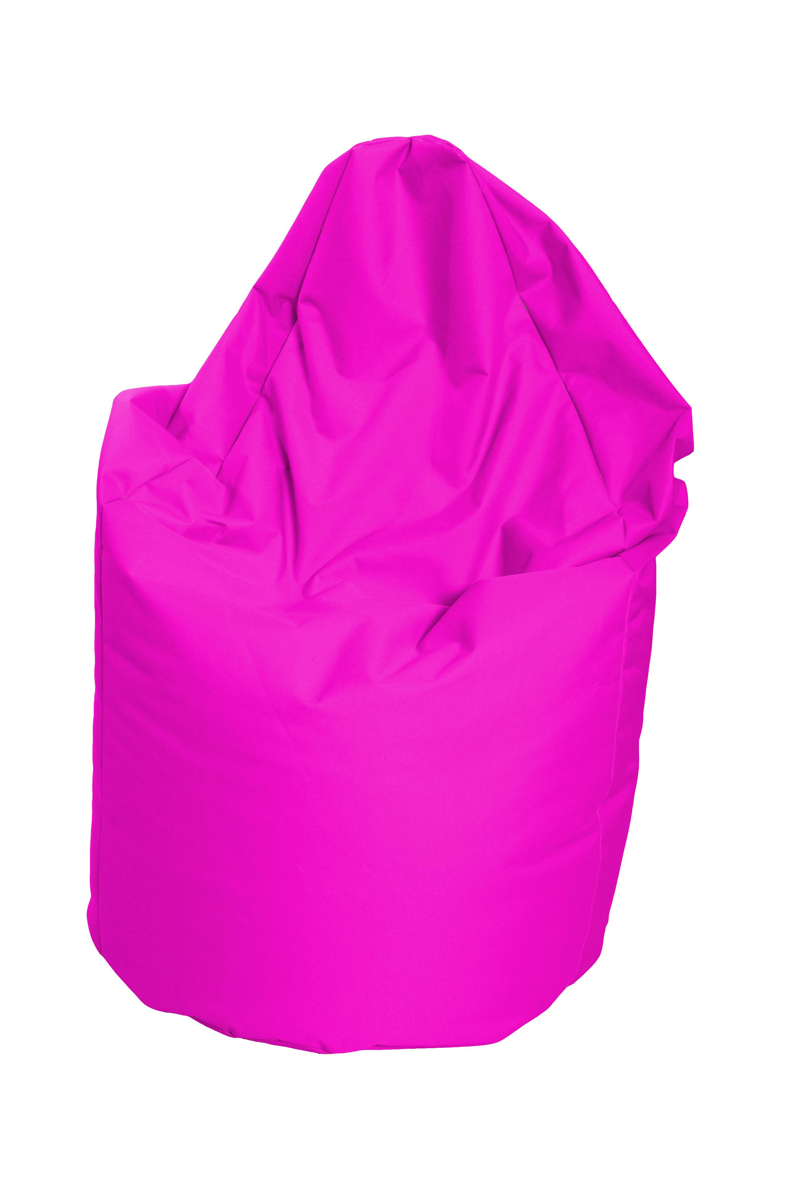 M&M sedací vak hruška Mega, vnitřní obal 140x80cm růžová (růžová 41194)
