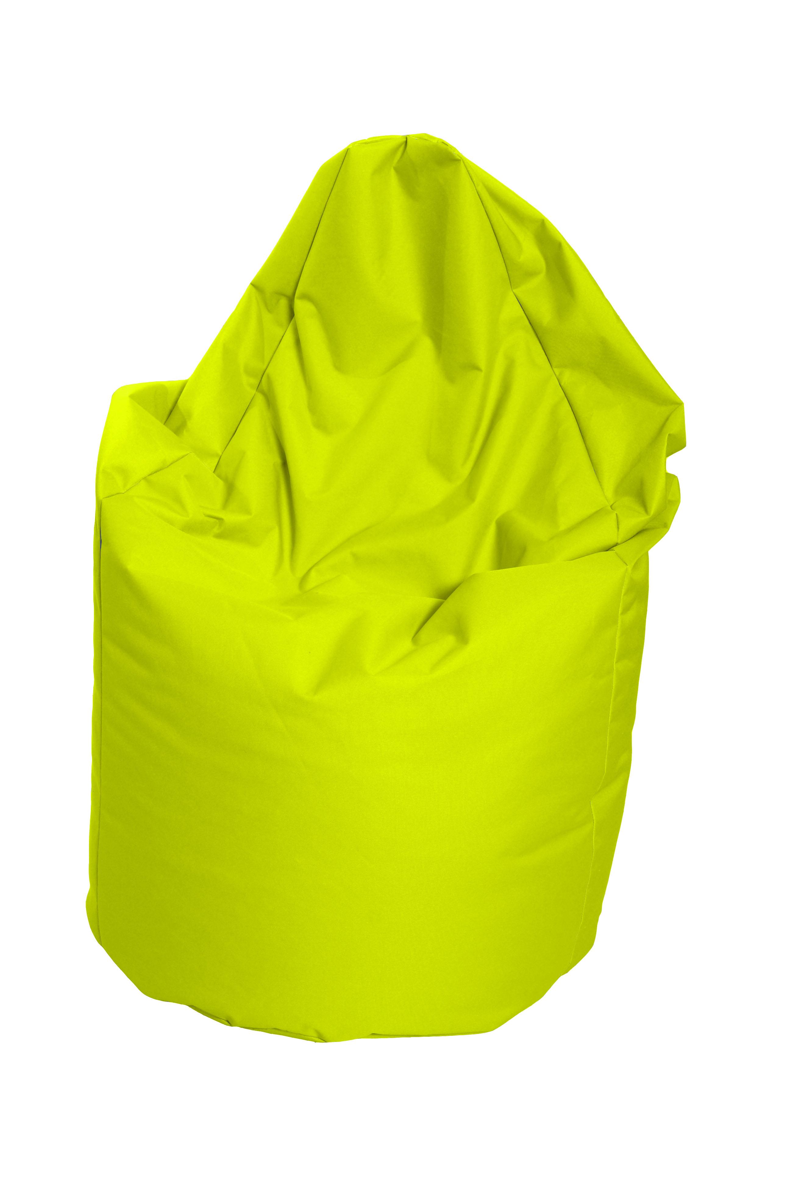 M&M sedací vak hruška Mega s vnitřním obalem 140x80cm neonová (neonová 51346)