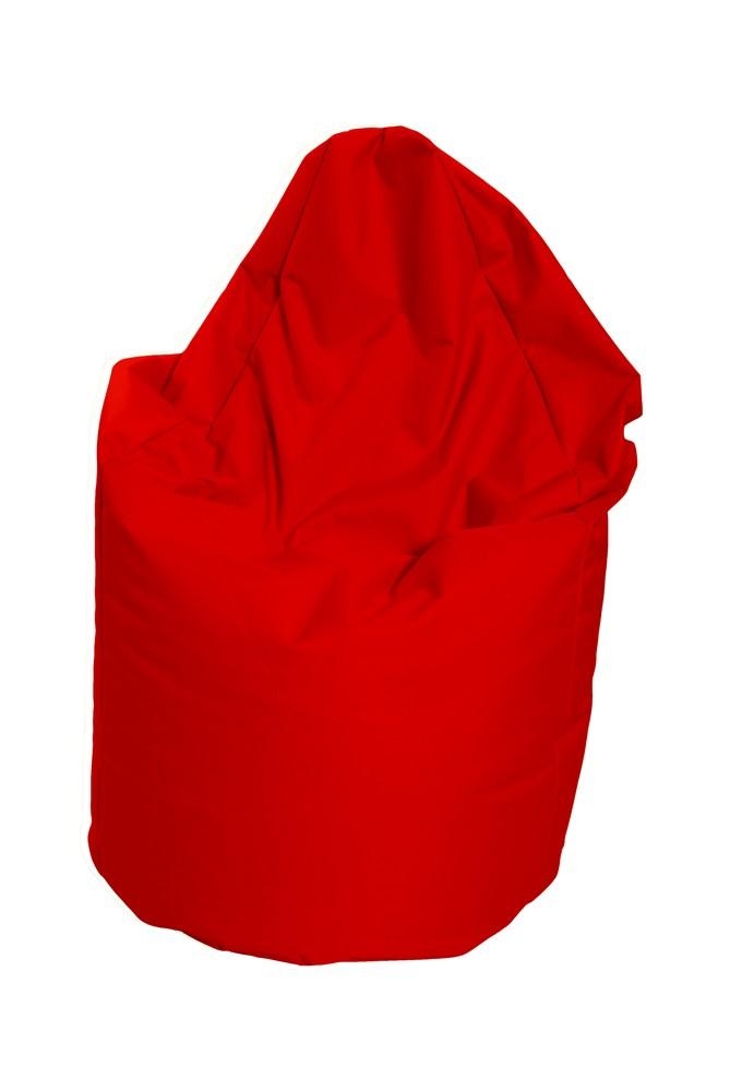 M&M sedací vak hruška Mega s vnitřním obalem 140x80cm červená (červená 80023)