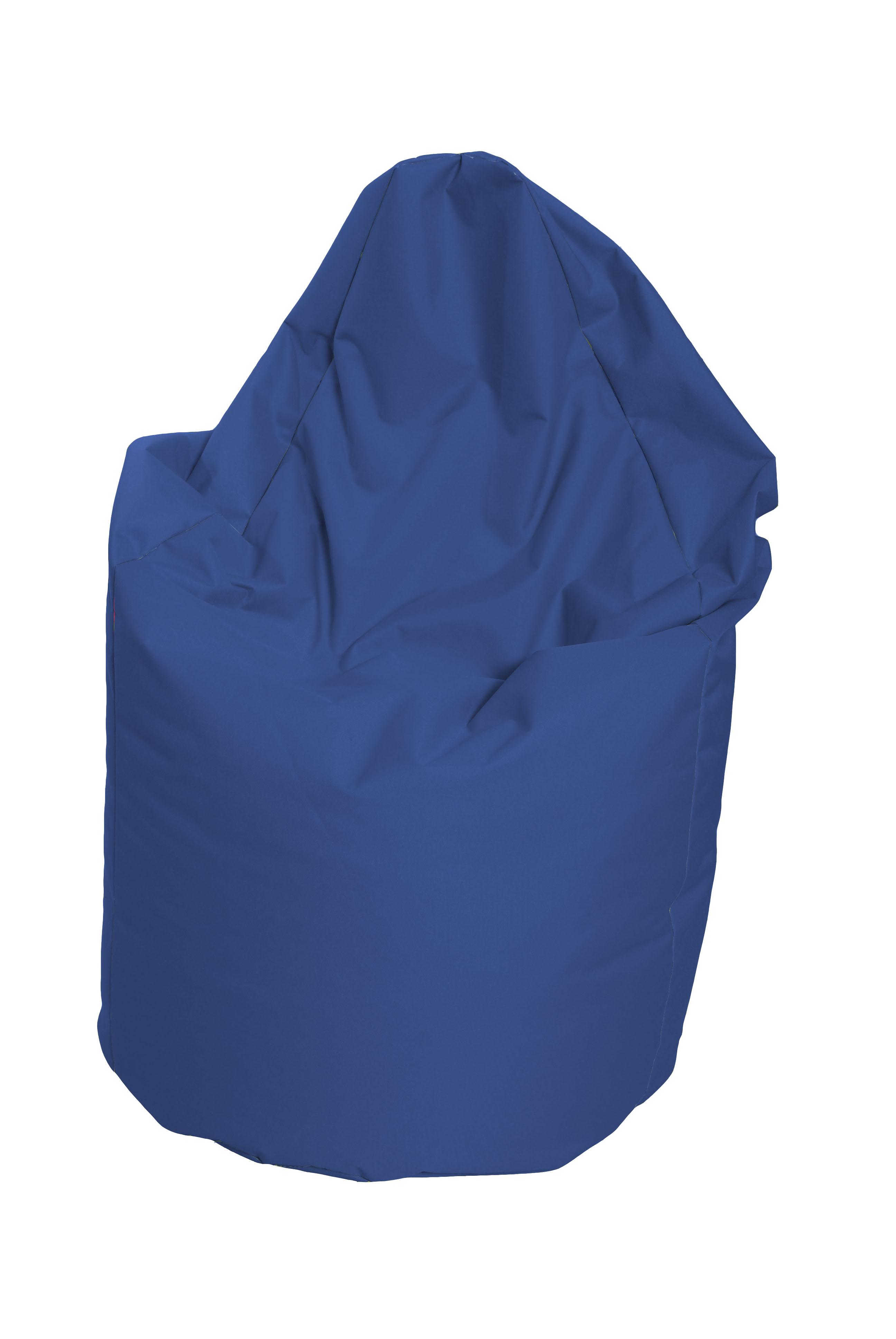 M&M sedací vak hruška Mega vnitřní obal 140x80cm modrá (modrá 80175)