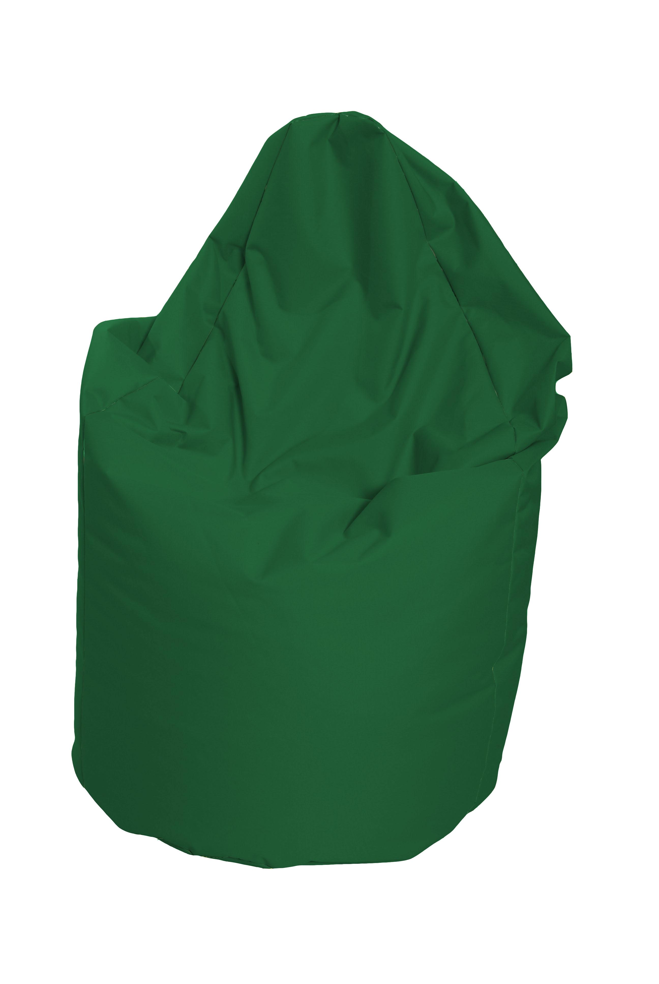 M&M sedací vak hruška Mega vnitřní obal 140x80cm tmavě zelená (tmavě zelená 80026)
