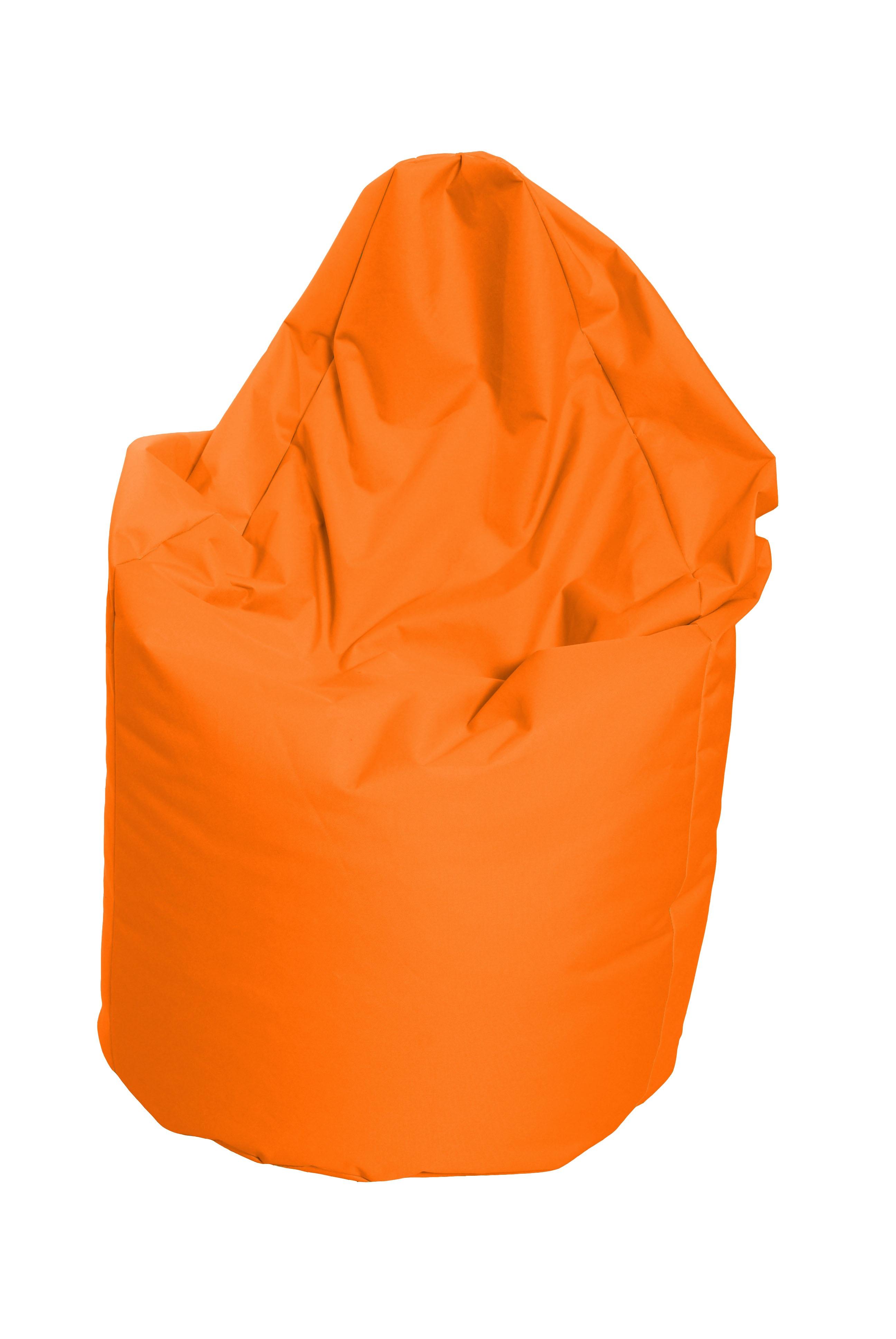 Sedací vak hruška Mega oranžová (oranžová 60012)