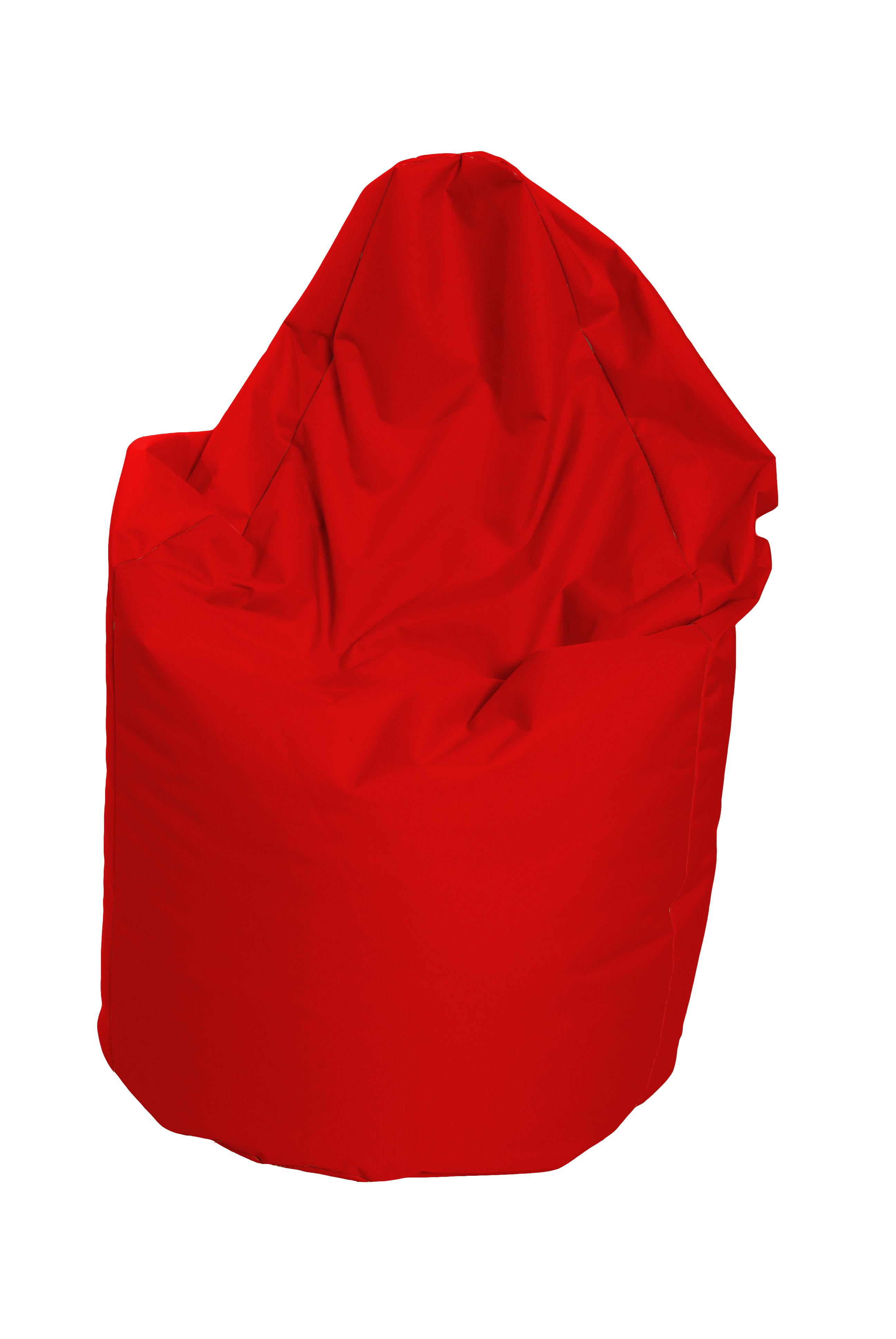 Sedací vak hruška Mega červená (červená 80023)
